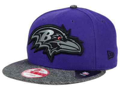 Baltimore Ravens New Era NFL Gridiron Hook 9FIFTY Snapback Cap