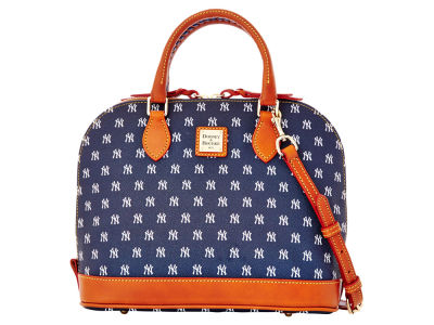 New York Yankees Dooney & Bourke Zip Zip Satchel