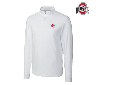 Ohio State Buckeyes NCAA Men's Belfair Zip Mock Long Sleeve Shirt