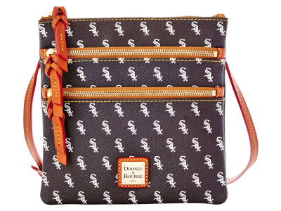 Chicago White Sox Dooney & Bourke Triple Zip Crossbody Bag