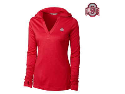 Ohio State Buckeyes NCAA Women's Drytec Chelan Hooded T-Shirt