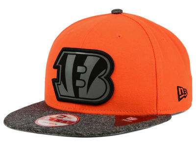 Cincinnati Bengals New Era NFL Gridiron Hook 9FIFTY Snapback Cap
