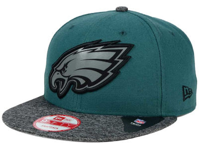 Philadelphia Eagles New Era NFL Gridiron Hook 9FIFTY Snapback Cap