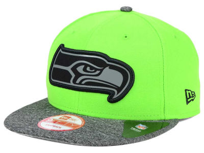 Seattle Seahawks New Era NFL Gridiron Hook 9FIFTY Snapback Cap