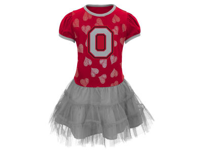 Ohio State Buckeyes Outerstuff NCAA Toddler Love To Dance Dress