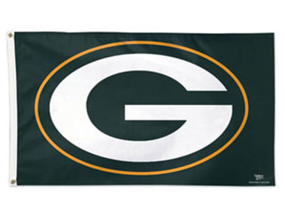 Green Bay Packers 3x5 Deluxe Flag