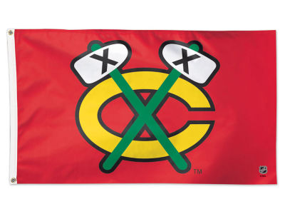 Chicago Blackhawks 3x5 Deluxe Flag