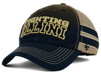 Illinois Fighting Illini '47 NCAA '47 Mackinack Meshback Cap