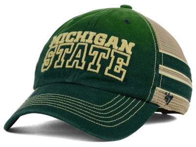 Michigan State Spartans '47 NCAA '47 Mackinack Meshback Cap
