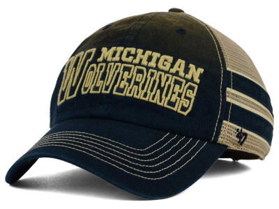 Michigan Wolverines '47 NCAA '47 Mackinack Meshback Cap
