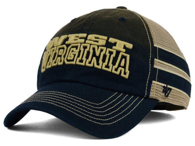 West Virginia Mountaineers '47 NCAA '47 Mackinack Meshback Cap