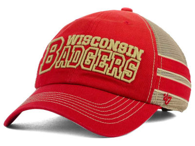 Wisconsin Badgers '47 NCAA '47 Mackinack Meshback Cap