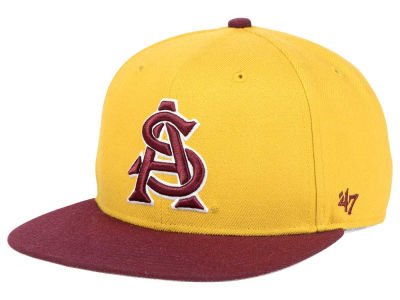 Arizona State Sun Devils '47 NCAA Sure Shot Snapback Cap