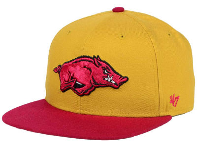 Arkansas Razorbacks '47 NCAA Sure Shot Snapback Cap