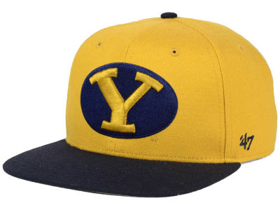 Brigham Young Cougars '47 NCAA Sure Shot Snapback Cap