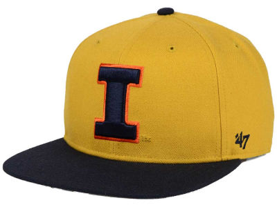 Illinois Fighting Illini '47 NCAA Sure Shot Snapback Cap