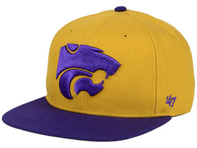Kansas State Wildcats '47 NCAA Sure Shot Snapback Cap
