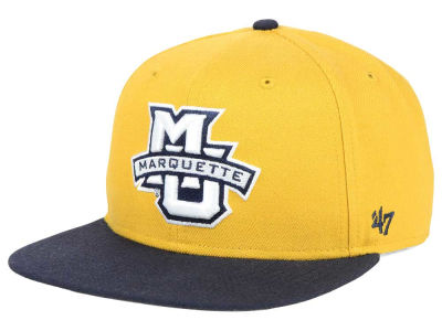 Marquette Golden Eagles '47 NCAA Sure Shot Snapback Cap