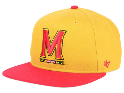 Maryland Terrapins '47 NCAA Sure Shot Snapback Cap