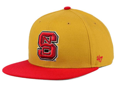 North Carolina State Wolfpack '47 NCAA Sure Shot Snapback Cap