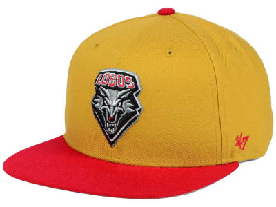 New Mexico Lobos '47 NCAA Sure Shot Snapback Cap