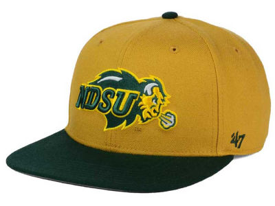 North Dakota State Bison '47 NCAA Sure Shot Snapback Cap