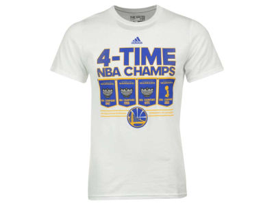 Golden State Warriors adidas NBA Men's 4-Time Champ T-Shirt