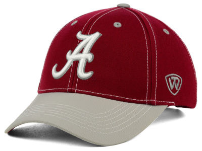 Alabama Crimson Tide Top of the World NCAA Triple Conference 2 Tone Cap