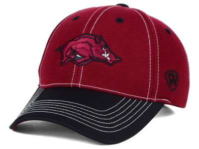 Arkansas Razorbacks Top of the World NCAA Triple Conference 2 Tone Cap