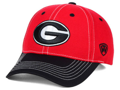 Georgia Bulldogs Top of the World NCAA Triple Conference 2 Tone Cap