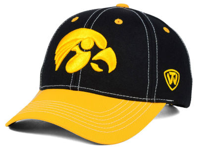 Iowa Hawkeyes Top of the World NCAA Triple Conference 2 Tone Cap