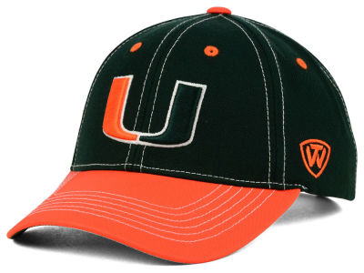 Miami Hurricanes Top of the World NCAA Triple Conference 2 Tone Cap