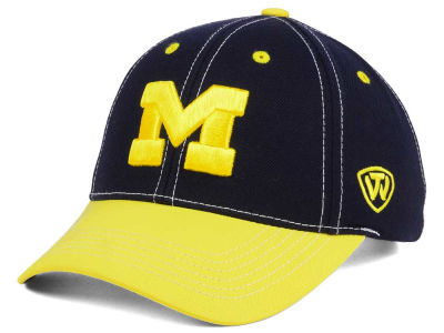 Michigan Wolverines Top of the World NCAA Triple Conference 2 Tone Cap