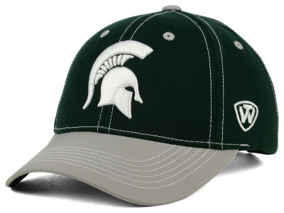 Michigan State Spartans Top of the World NCAA Triple Conference 2 Tone Cap