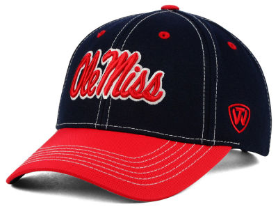 Ole Miss Rebels Top of the World NCAA Triple Conference 2 Tone Cap
