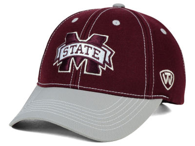 Mississippi State Bulldogs Top of the World NCAA Triple Conference 2 Tone Cap