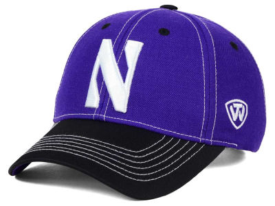Northwestern Wildcats Top of the World NCAA Triple Conference 2 Tone Cap