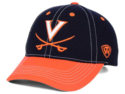 Virginia Cavaliers Top of the World NCAA Triple Conference 2 Tone Cap