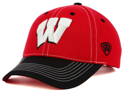 Wisconsin Badgers Top of the World NCAA Triple Conference 2 Tone Cap