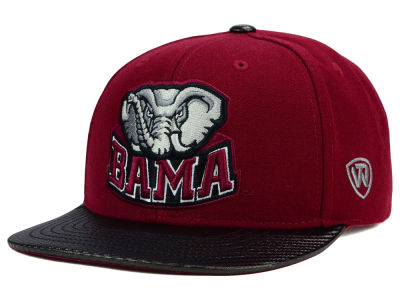 Alabama Crimson Tide Top of the World NCAA Carbonite Snapback Cap