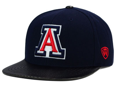 Arizona Wildcats Top of the World NCAA Carbonite Snapback Cap