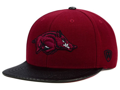 Arkansas Razorbacks Top of the World NCAA Carbonite Snapback Cap