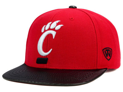 Cincinnati Bearcats Top of the World NCAA Carbonite Snapback Cap