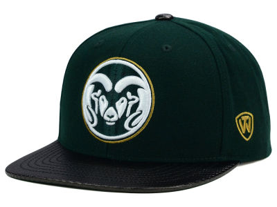 Colorado State Rams Top of the World NCAA Carbonite Snapback Cap
