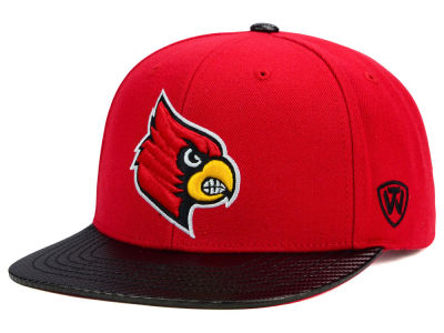 Louisville Cardinals Top of the World NCAA Carbonite Snapback Cap