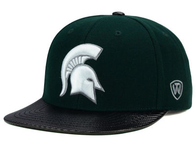 Michigan State Spartans Top of the World NCAA Carbonite Snapback Cap