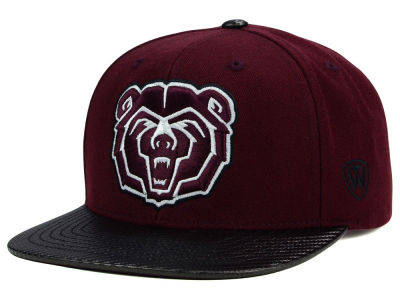 Missouri State Bears Top of the World NCAA Carbonite Snapback Cap