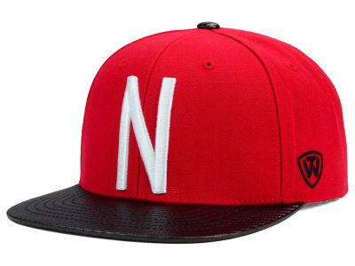 Nebraska Cornhuskers Top of the World NCAA Carbonite Snapback Cap