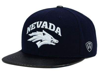 Nevada Wolf Pack Top of the World NCAA Carbonite Snapback Cap