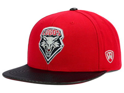New Mexico Lobos Top of the World NCAA Carbonite Snapback Cap